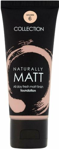 12 x Collection  Naturally Matt Foundation  | Golden | RRP £36 | Wholesale